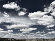 """""""Highway Through The Clouds"""" Highway 54 in Central New Mexico is dwarfed by the awesome display of clouds above it."""
