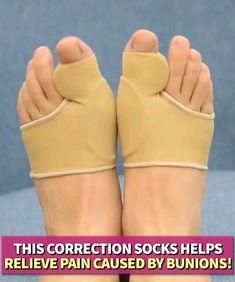 Bunion Corrector Big Toe - Bunion Splints Pain Relief - Hallux Valgus Treatment Kit Protector - Bunions Pads Toe Spacer for Women & Men Bunion Relief, Pain Relief, Bunion Exercises, Bunion Remedies, Cellulite Remedies, Get Rid Of Bunions, Bunion Pads, Foot Detox, Dietas Detox