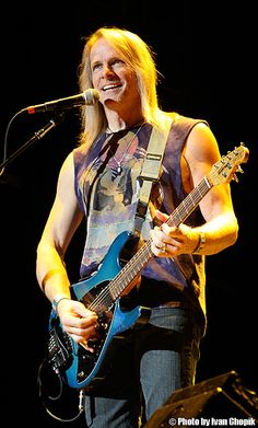Steve Morse - formerly of the Dixie Dregs, a  guitarist seemingly without technical limitations yet with a totally accessible style