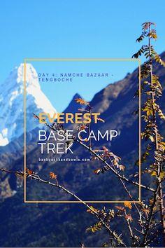 Everest Base Camp Trek - Namche Bazaar to Tengboche - Nepal Himalaya Diary
