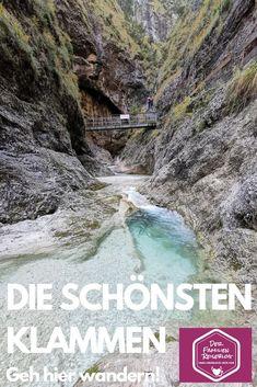 --> KLAMM WANDERN ❤ das sind die Schönsten Austria, Travel Inspiration, Camping, Mountains, Water, Outdoor, City, Wallis, Bergen