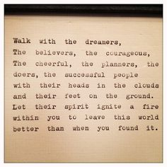 Inspirational Quote Typed on Typewriter and Framed by farmnflea, $10.00