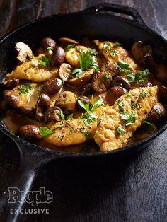 Epcot Food & Wine's Chicken and Mushroom Marsala http://greatideas.people.com/2016/03/22/chicken-mushroom-marsala-recipe/