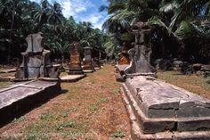 French Guiana - Devil's Islands, Ile St. Joseph, cemetery