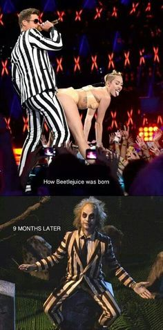 Where Beetlejuice  came from.