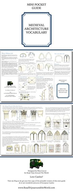 Charmant Medieval Architecture Guide   Learn Everything You Need To Know About  Romanesque And Gothic Architecture!