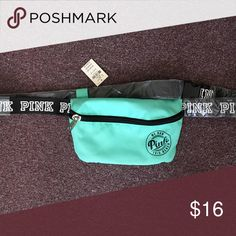7218561281a NWT Pink fannypack Pink fannypack turquoise color brand new with all the  tags and wrapping still