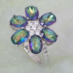 Find More Rings Information about Luxury Sparkling New Brand designer Purple Rainbow Mystic Topaz 925 Stamp Sterling Silver Overlay Fashion jewelry Rings R267,High Quality jewelry pet,China jewelry bad Suppliers, Cheap jewelry refractometer from Dana Jewelry Co., Ltd. on Aliexpress.com