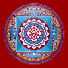 Meditation symbol creative energy