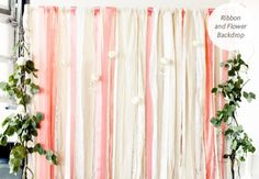 DIY photobooth backdrops