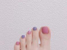 Acrylic Nail Designs, Acrylic Nails, Color For Nails, Korean Nails, Metallic Nail Polish, Feet Nails, Stylish Nails, Nail Inspo, Nails Inspiration
