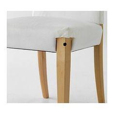 HENRIKSDAL Cadeira - Linneryd cru, - IKEA