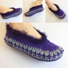 New ALMA SLIPPERS Crochet Pattern easy and comfy #crochet #slippers #patterns Happy Halloween www.nuttypatterns.com