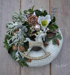 Christmas Wreaths, Holiday Decor, Type 3, Facebook, Home Decor, Crafts, Manualidades, Creative, Decoration Home