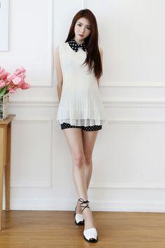 Simple White | kfashion ♡