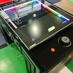 """25 Beğenme, 1 Yorum - Instagram'da Phoenix Amusements, Inc. (@phoenixamuse): """"Pong! Awesome looking tabletop version of the old classic #Pong game. Definitely adding to our…"""" Pong Game, Pitch, Tabletop, Phoenix, Old Things, Awesome, Classic, Outdoor Decor, Derby"""