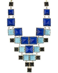 Maddox Statement Necklace in Blue Nile - Kendra Scott Jewelry