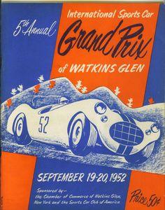 "Watkins Glen ""International Sports Car Grand Prix of Watkins Glen"" 1952   eBay"