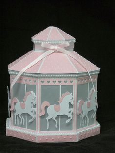 Adventures with my Zing & Cameo! - Tracey Farr: A CAROUSEL LANTERN FROM A WINTER GAZEBO!!!