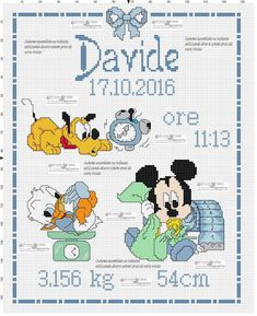 621 Fantastiche Immagini Su Disney Punto Croce Cross Stitch