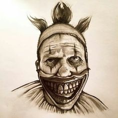 AHS: Freakshow Twisty the clown By: Billy Pozzo American Horror Story Clown, Clown Horror Movie, Horror Movies, Ahs, Story Drawing, Art Prompts, Evil Clowns, Cartoon Art, Art Reference