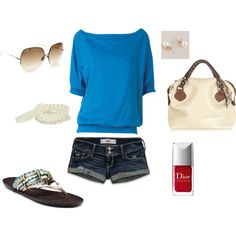 Summer casual chic