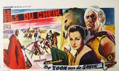 Movie Poster Mondays - Belgian poster for DESERT WARRIOR