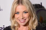 TV personality Stassi Schroeder poses backstage at Desigual fashion show during Mercedes-Benz Fashion Week Fall 2014 at The Theatre at Lincoln Center on February 6, 2014 in New York City.