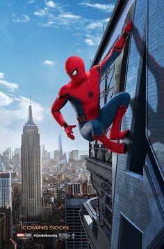 スパイダーマンがアベンジャーズタワーに!新作ポスター解禁 - 映画ナタリー