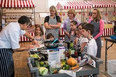 Bideford Market, great space to hold local events, this was the  free 'Can't Cook, won't cook' event for families to watch a professional chef, and then cook a meal themselves. A great event enjoyed by all!
