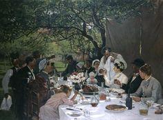 Eén van mijn favoriete schilderijen: Lettres Delacroix Maisons Alfort » Blog Archive » Secondes: repas de noces