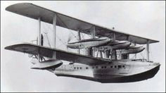 Short Sarafand   1932, largest Biplane flying boat ever built