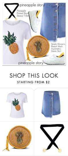 """""""pineapple story"""" by paculi ❤ liked on Polyvore featuring Stela 9"""