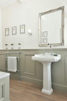 Traditional bathroom 421438477632326026 - Duel fuel radiator with heated towel rail Source by piersmoore Diy Bathroom, Bathroom Towels, Bathroom Styling, Bathroom Interior, Bathroom Designs, Bathroom Ideas, Bathroom Makeovers, Bathroom Vanities, Bathroom Cabinets