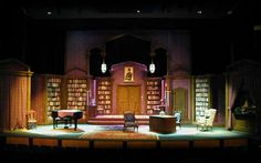 Musical Comedy Muerders of 1940 Scenic Design