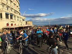 Si è conclusa con successo la tre giorni del Napoli Bike Festival. 18 mila e più persone hanno partecipato a questa quinta edizione, con quartier