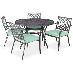 Threshold™ Harper 5-Piece Round Patio Dining Furniture Set