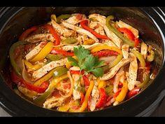 Slow Cooker Chicken Fajitas - Buzzfeed Tasty's - YouTube