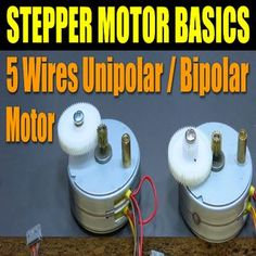 How stepper motor, stepper controller, and stepper driver work - 5 wires unipolar / bipolar motor example. Hobbies For Adults, Hobbies For Men, Hobby Electronics, Electronics Projects, Motor Arduino, Exercise Equipment For Sale, Homemade Cnc, Hobby Shops Near Me, Hobby Cnc