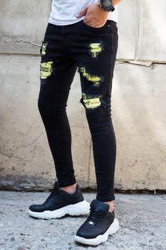 Blugi Slim COD B4729 Cod, Sweatpants, Skinny Jeans, Slim, Style, Fashion, Swag, Moda, Fashion Styles