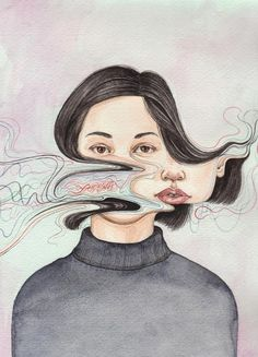 Painting by Henrietta Harris