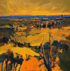 "Henrietta Berk ""The Valley, Vacaville"", 1968"