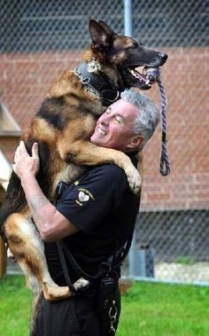 Have you hugged your dog today?? #German #Shepherd #Dog Community on FB