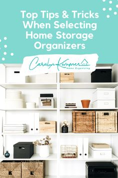 Top Tips & Tricks When Selecting Home Storage Organizers! Organization Ideas for bedrooms, Organization Ideas for home, Organization Ideas for small spaces, kitchen Organization Ideas, bathroom Organization Ideas, Closet Organization Ideas, office Organization Ideas, paperwork Organization Ideas, minimalist Organization Ideas, apartment Organization Ideas, Garage Organization Ideas, home storage, home storage ideas, home storage tips. #Homeorganization #Homestorage Pantry Closet Organization, Paperwork Organization, Kids Bedroom Organization, Home Organization Hacks, Organizing Your Home, Storage Organizers, Closet Remodel, Decluttering, Storage Ideas