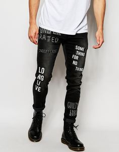 Whhhhaaaaaattttttt I love these! These would look so cool with a leather jacket and longline white t-shirt!