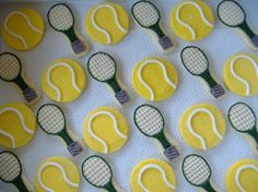 For our next tennis match : & Bryony! How fun are these. For our next tennis match : & Bryony! How fun are these. Tennis Party, Tennis Gifts, Tennis Match, Sport Tennis, Senior Night Gifts, Do It Yourself Inspiration, Cookie Designs, Cookie Ideas, Tennis Clothes
