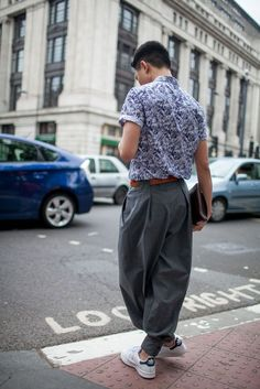 Street Style : They Are Wearing: London Mens Fashion Week