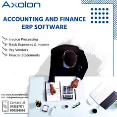 Axolon ERP Accounts management software simplifies the process of accounting for any individual or an organization. Visit www.AxolonERP.com online or call Toll free now on ☎ 800296566 to get more details. #AccountingSoftware #AccountingSolution #AccountingERP #FinanceSoftware #FinanceSolution #FinanceERP #Tally #Accountant #CA #CharteredAccountant #AccountingManagement #Axolon #AxolonERP Accounting And Finance, Accounting Software, Business Goals, Business Management, Chartered Accountant, Day Work, Human Resources, Project Management, Muscat