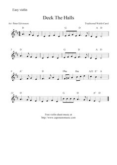 sheet music violin | Available free sheet music