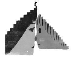『母の友』「ほいくのゆくえ」のための挿絵。少子化と「保活」と保育事故。|木内達朗イラストレーション